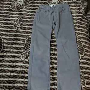 Levi's Strauss & Co. Gray jeans boys size 12 reg.